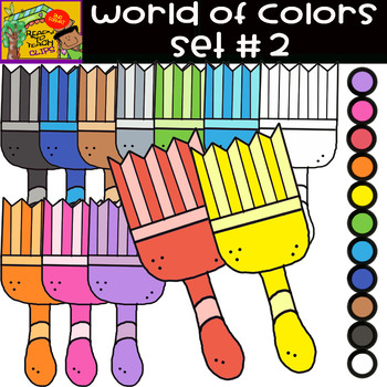 The Colors - World of colors - 12 Items - Set #2