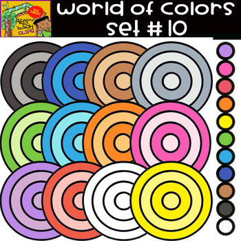 The Colors - World of colors - 13 Items - Set #10