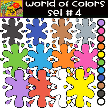 The Colors - World of colors - 13 Items - Set #4