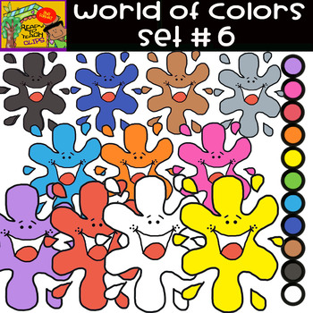 The Colors - World of colors - 13 Items - Set #6