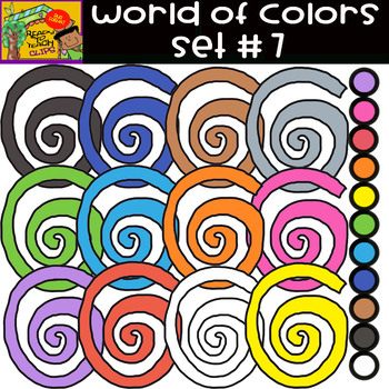 The Colors - World of colors - 13 Items - Set #7