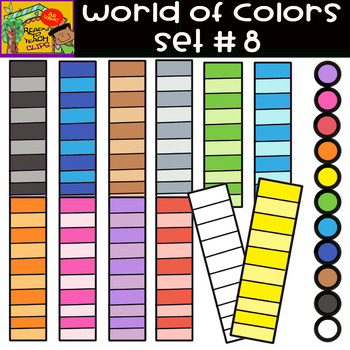 The Colors - World of colors - 13 Items - Set #8