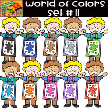 The Colors - World of colors (Boys) - 25 Items - Set #11