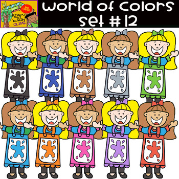 The Colors - World of colors (Girls) - 25 Items - Set #12