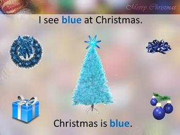 The Colors of Christmas Emergent Reader Digital Set