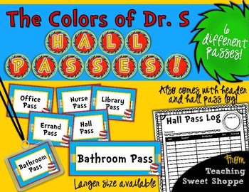 Whimsical Hall Passes