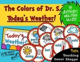 The Colors of Dr. S!  Weather Cards