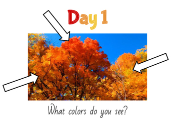 The Colors of Fall: A Mixed Media Art Project for Kids