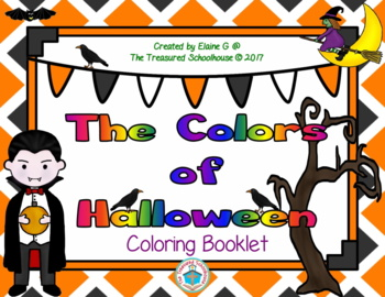 The Colors of Halloween Coloring Booklet