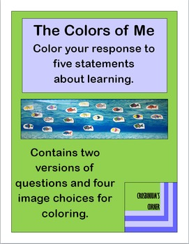 The Colors of Me - Color Your Response Activity