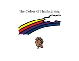 The Colors of Thanksgiving-Adaptive Book