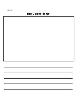 The Colors of Us Activity Worksheets