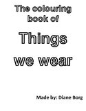 The Colouring Book of Things We Wear (UK version)