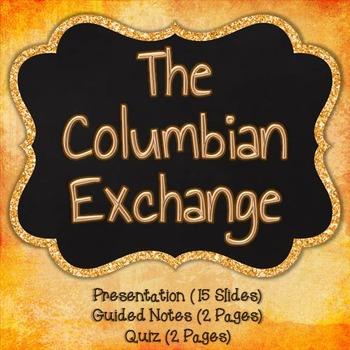 The Columbian Exchange {Bundle}