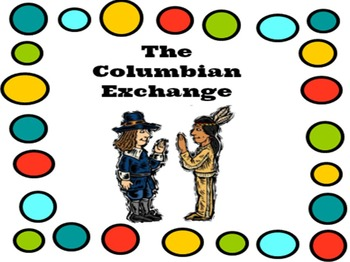 The Columbian Exchange Bundle: Powerpoint with fill-in-the