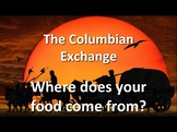 The Columbian Exchange - Where Does Your Food Come From?