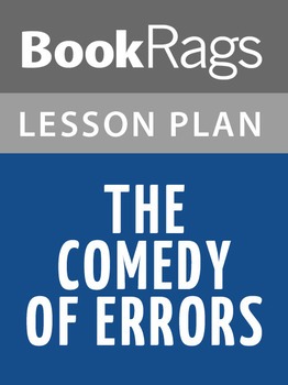 The Comedy of Errors Lesson Plans