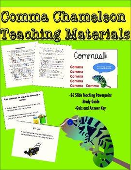 The Comma Chameleon Presents: Commas!