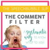 The Comment Filter