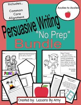 Best Ever Persuasive Writing Bundle