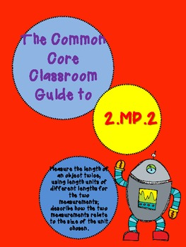 The Common Core Classroom Guide to 2.MD.2: Comparing measurements