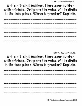 The Common Core Classroom Guide to 2.NBT.1: Place Value