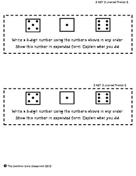 The Common Core Classroom Guide to 2.NBT.3:Read & Write Numbers (2nd version)