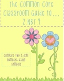 The Common Core Classroom Guide to 2.NBT.4 - Compare three-digit numbers