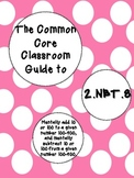 The Common Core Classroom Guide to 2.NBT.8 * Mentally add & subtract 10 or 100