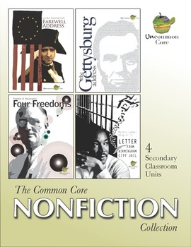 The Common Core Nonfiction Collection: 4 Secondary Classroom Units