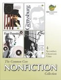 The Common Core Nonfiction Collection: 4 Secondary Classro