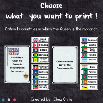 Word Wall - The Commonwealth of Nations
