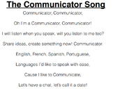Communicator Song