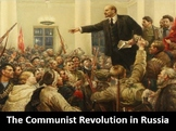 The Communist Revolution in Russia PowerPoint, Worksheets,