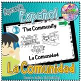 The Community La Comunidad Aprende Español | Audio BOOM Cards