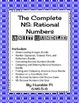 The Complete 6th Grade NS:Rational Numbers Unit Bundle-6.NS.5,NS.6,NS.7,NS.8