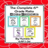 The Complete 6th Grade Ratio Unit Bundle-6.RP.1, 6.RP.2,6.RP.3a,b,c,d