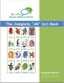 Complete AR Book: Vocalic R Articulation and Language Workbook