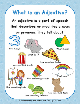 The Complete Adjective Resource