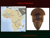 The Complete African Civilizations & Trading States PowerPoint Unit