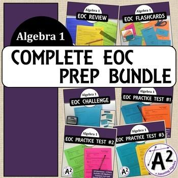 The Complete Algebra 1 EOC Preparation Package
