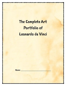 The Complete Art Portfolio of Leonardo da Vinci