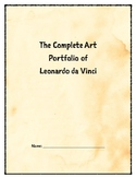 The Complete Art Portfolio of Leonardo da Vinci (Censored)
