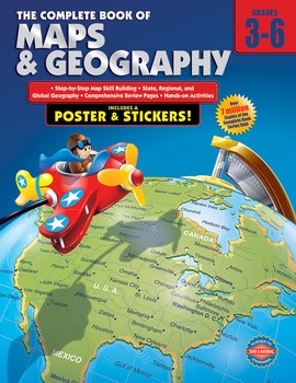 The Complete Book of Maps and Geography Grades 3-6 20% OFF