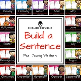 The Complete Build a Sentence Journals for Young Writers Bundle