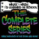 Complete Series Job Readiness Bundle -SPED High School (Print/Google)