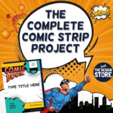 The Digital Comic Strip / Graphic Novel Project - Template