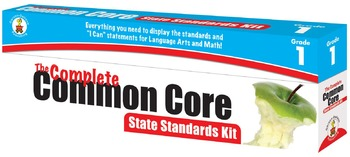 The Complete Common Core State Standards Kit Grade 1 SALE 20% OFF! 158169