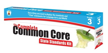 The Complete Common Core State Standards Kit Grade 3 SALE 20% OFF! 158171