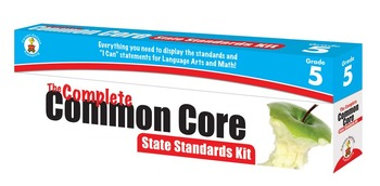 The Complete Common Core State Standards Kit Grade 5 SALE 20% OFF! 158173
